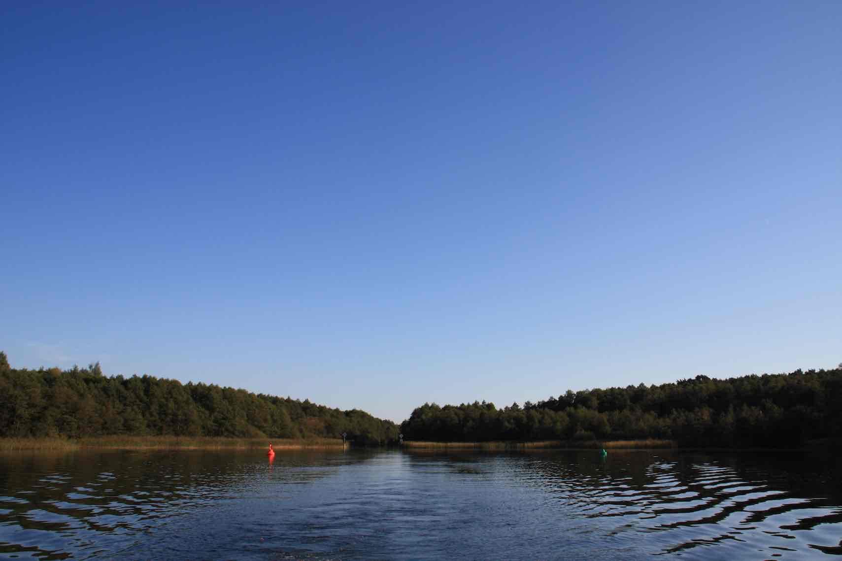 storkowersee-Kanaleinfahrt